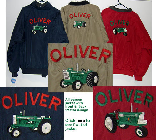 <back view of Oliver Jackets