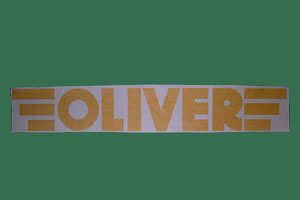 Oliver Trailer Decal, Click to ENLARGE!